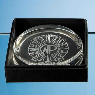 Large Paperweight Leatherette Box