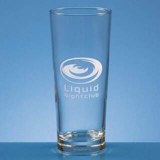 0.58ltr Straight Sided Beer Glass