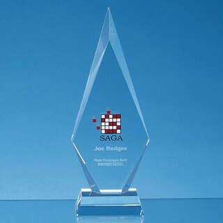 30cm Optical Crystal Kovel Peak Award